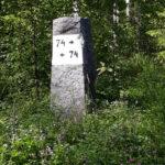 Joensuun ja Sortavalan puoliväli 74 km molempiin
