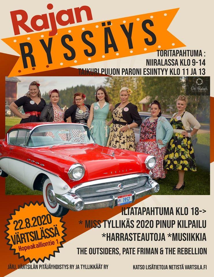 RajanRyssäys iltatapahtuma @ Värtsilän kesäteatteri