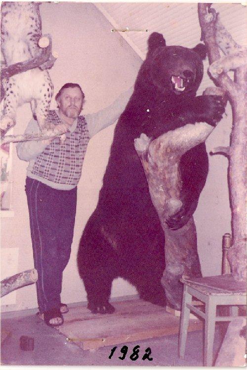 Einari Kuosmanen karhu