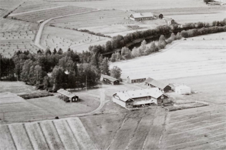 Ilmakuva Värtsilästä 1939 kuva Värtsiläisten seura ry